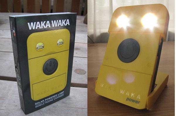 Waka Waka Power: лампа + зарядное устройство