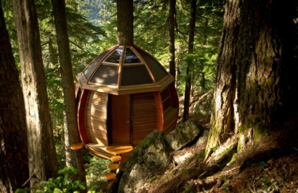 HemLoft: дом на дереве