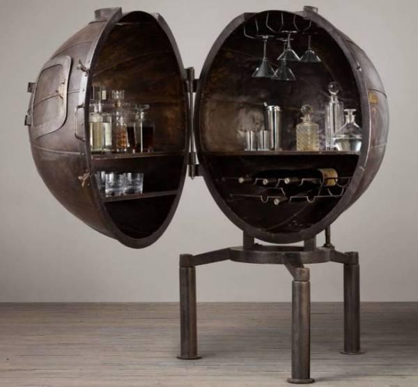 Винный бар в стиле Стимпанк