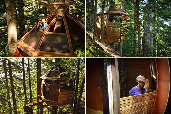 HemLoft - экологически чистый домик на дереве