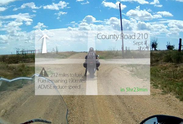 LiveMap: умный шлем станет отличным помощником в дороге
