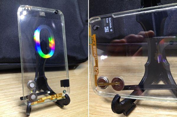 Polytron Technologies: две стороны - два прозрачных дисплея