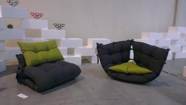 Ted Bed: кровать, диван и кресло-пуф