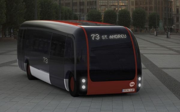 Концепт эко-автобуса B2us