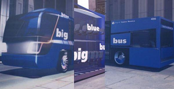 Концепт эко-автобуса Big Blue bus