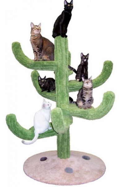 Cozy Cactus Cat Tree от Hollywood Kitty Co