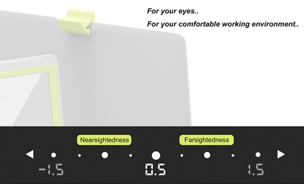 i-Free приспособлен для людей как с близорукостью, так и с дальнозоркостью