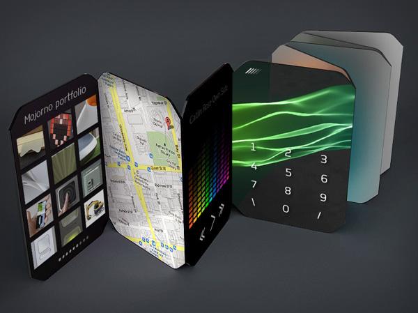 Smartphone-booklet: концепт от российского дизайнера