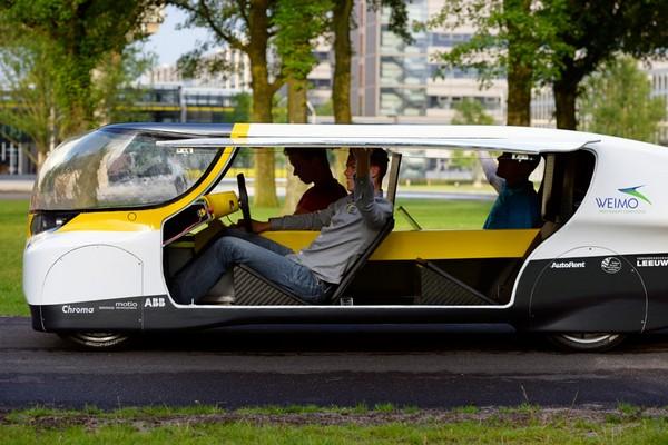 Stella – первый в мире солнечный электромобиль для всей семьи