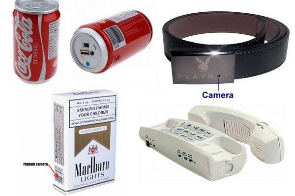 Маленькие скрытые камеры с большими возможностями