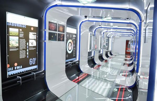 Поезд Инноваций, путешествующий по России