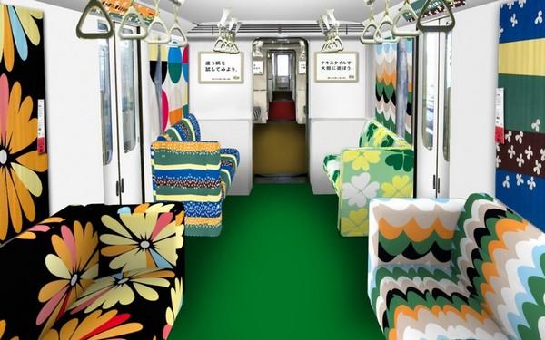 Японский поезд в стиле IKEA