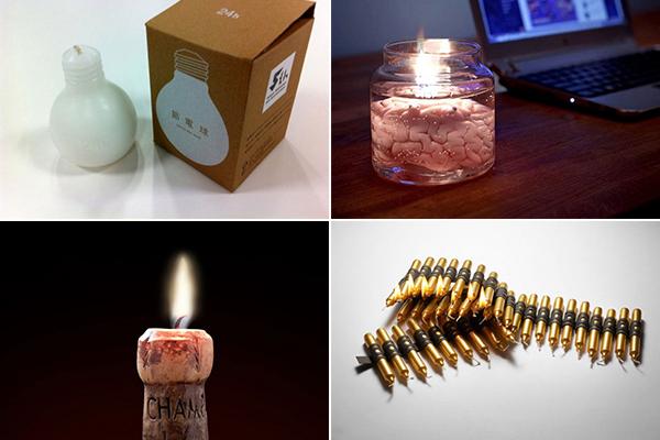 обзор необычных свечей