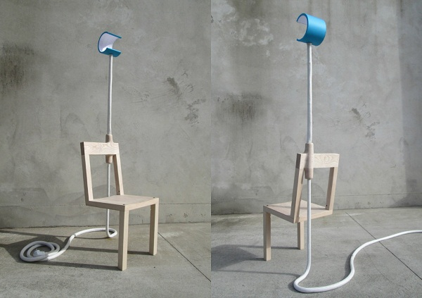 Lambent Chair: стул-жираф из Новой Зеландии