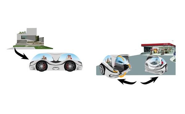 2Wheela разделяется на две автономных части