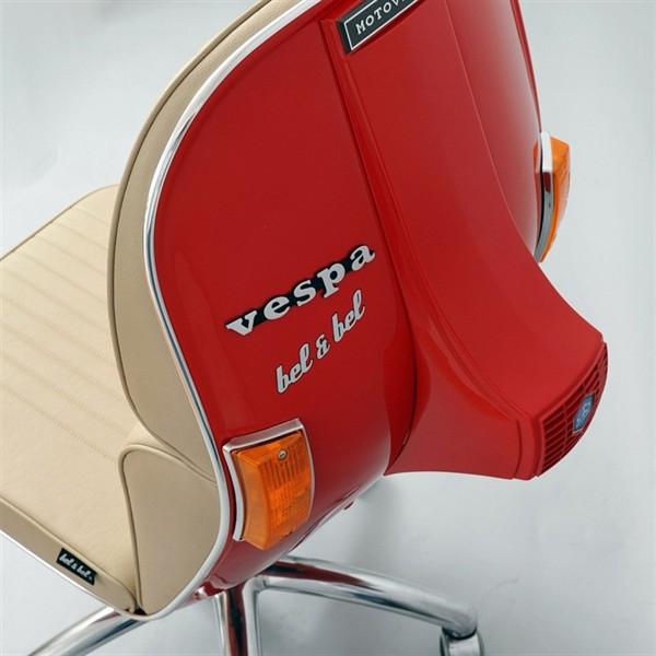 кресло BV из скутера Vespa