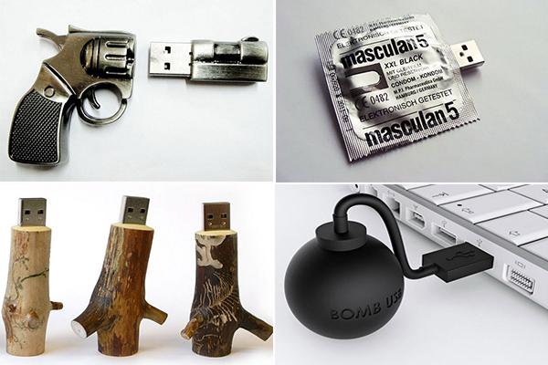 обзор оригинальных USB-накопителей