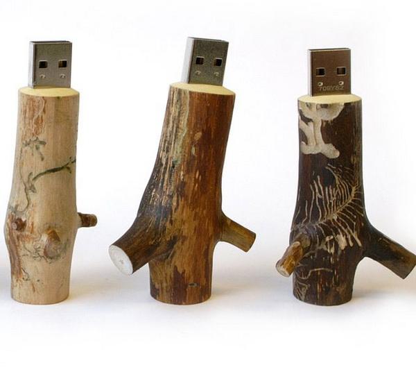 Деревянные флешки