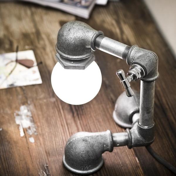 Лампы Kozo из водопроводных труб