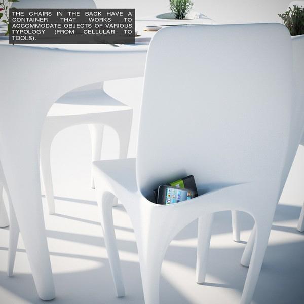 «Bye Bye Wind» - концепт пластмассовой мебели для сада