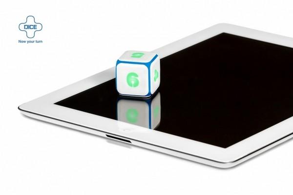 DICE+ – интерактивный кубик для игр на планшете
