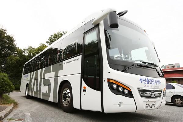 OLEV – первый в мире автобус с зарядкой по дороге