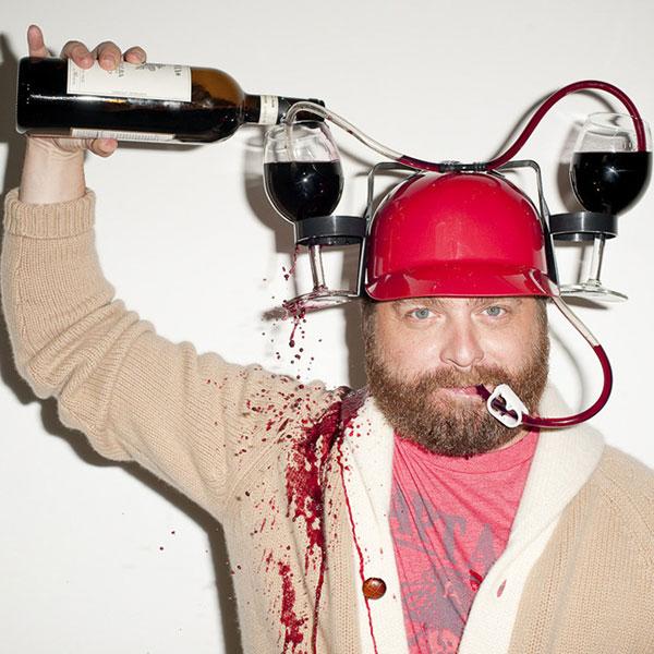Мотоциклетный шлем для любителей вина