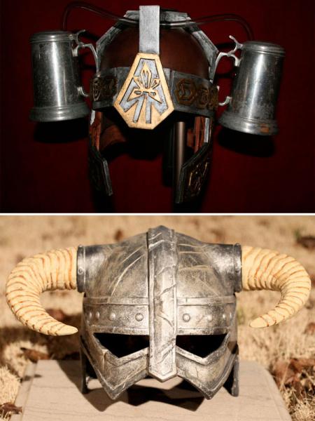 Средневековый шлем для байкера