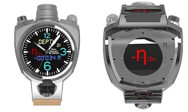 Hyetis Crossbow – «умные» часы с камерой на 41 мегапиксель