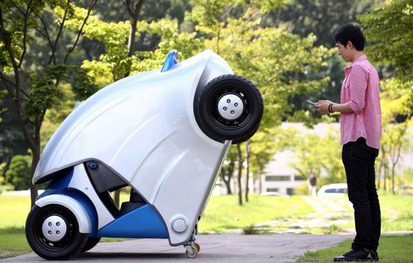 Armadillo-T – автомобиль, который умеет ужиматься при парковке