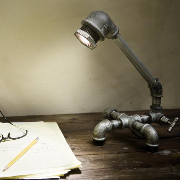 Светильники Kozo из водопроводных труб: то, что можно сделать самому