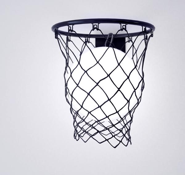 Light Ball: светильник - баскетбольный мяч
