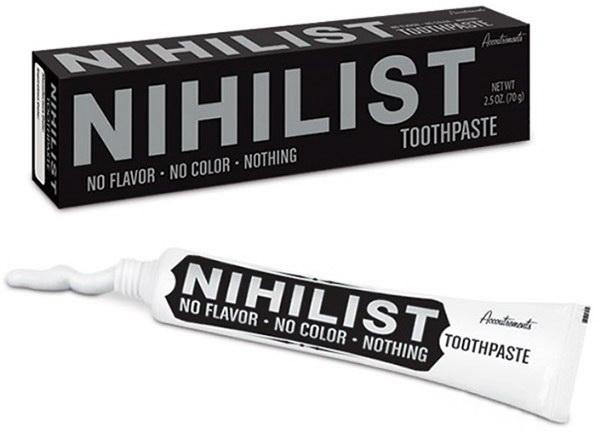 Nihilist Toothpaste – самая честная в мире зубная паста