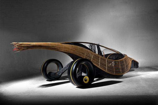 Концепт-кар Phoenix – экологический манифест на колесах из бамбука
