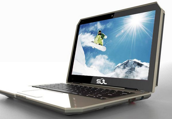 SOL – солнечный ноутбук для экстремалов и детей из развивающихся стран