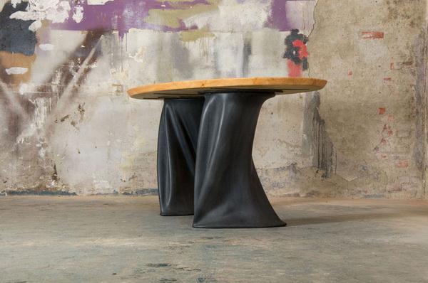обеденный стол с резиновой отделкой Project RUBBER
