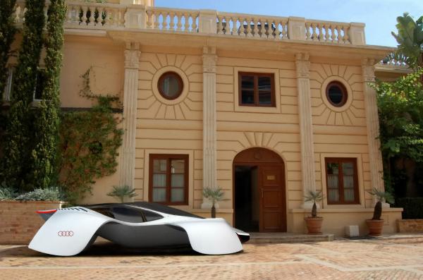 Audi Avatar: футуристичный суперкар с отголосками старины