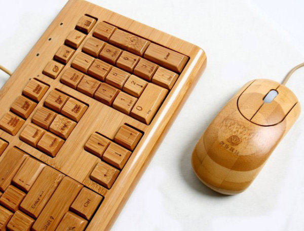 Бамбуковая клавиатура от Impecca