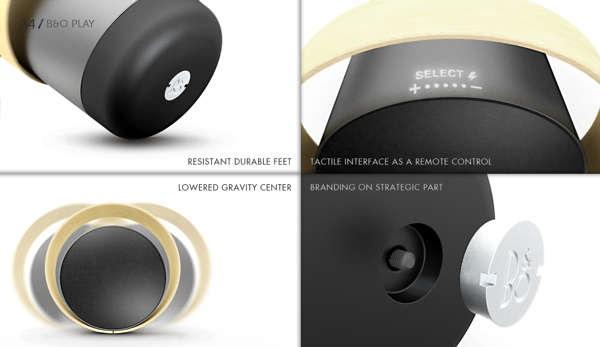 Bang & Olufsen A4 Speakers - концепт аудиосистемы от Clеment Puertolas