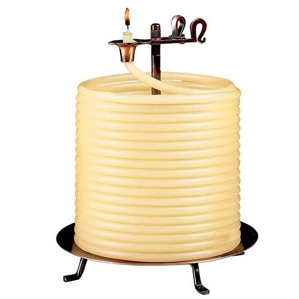 свеча, которая не погаснет в течение 144 часов