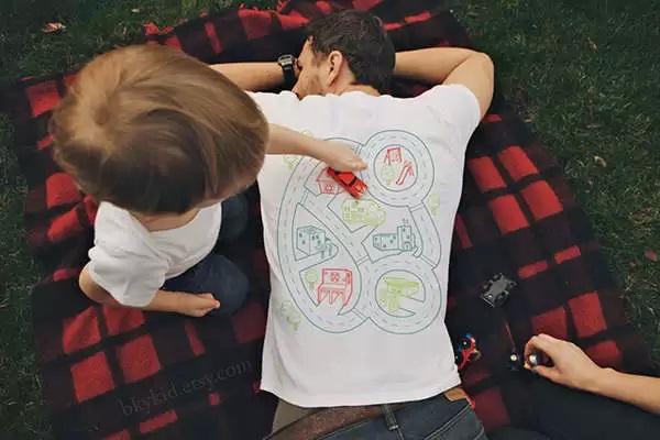 Car Play Mat T-Shirt - игровые футболки для ленивых пап