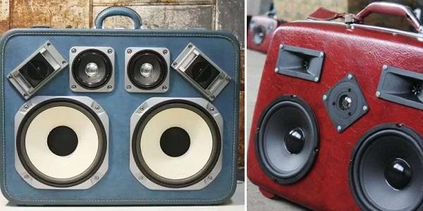 Case of Bass - аудиомагнитофон в стиле ретро от Ezra и Alex Ciminio-Hurt