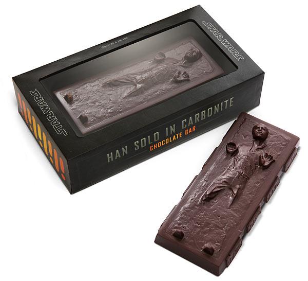 шоколад в форме Han Solo