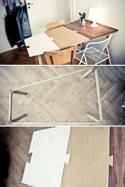 Обеденный стол-паззл Puzzle-Table от Anders Guld