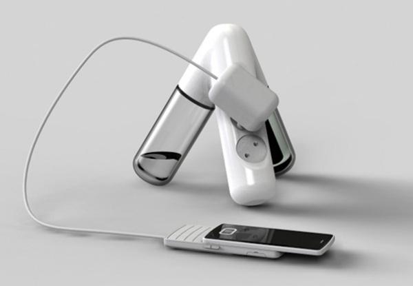 Eco Power Strip использует биоэтанол для зарядки смартфона