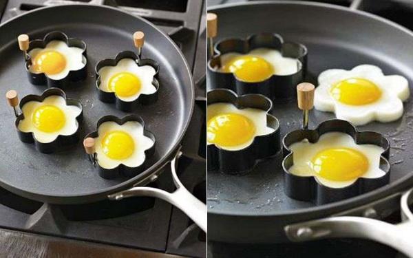 необычные формы для жарки яиц