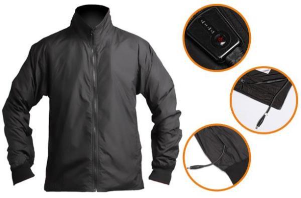 Зимняя куртка с подогревом