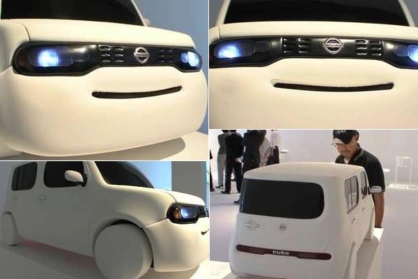 Концепт Happy Vehicle - дружелюбный городской автомобиль от Nissan и Hara Designs