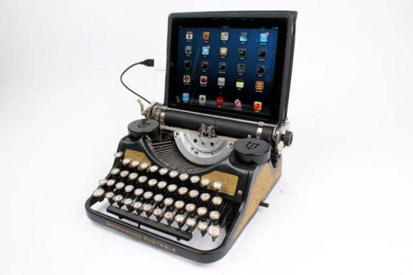 клавиатура - печатная машинка