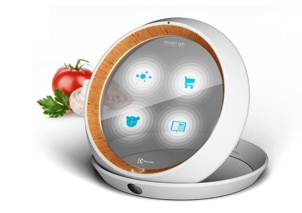 Электронная тарелка Kitchen Hub, следящая за рационом питания